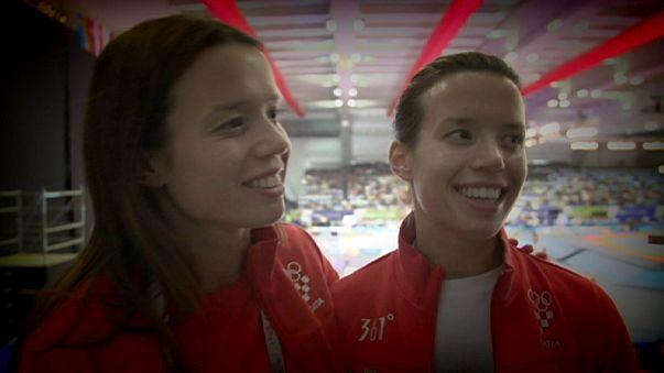 Sports United - Tékvandós ikrek és Riner cselgáncsleckéje