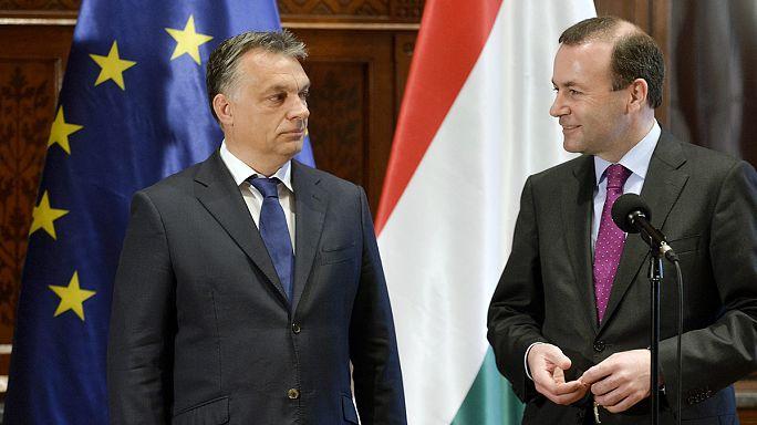 Orbán és az Európai Néppárt: feszültség van, de válás még nincs a vitatott politika miatt