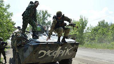 Schwere Kämpfe in der Ost-Ukraine - Poroschenko fordert Einhaltung des Minsker Abkommens
