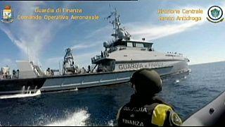 Italienische Polizei stellt Drogen im Wert von 40 Millionen Euro sicher