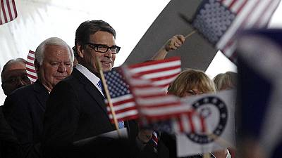 Rick Perry joins Republican race for the White House