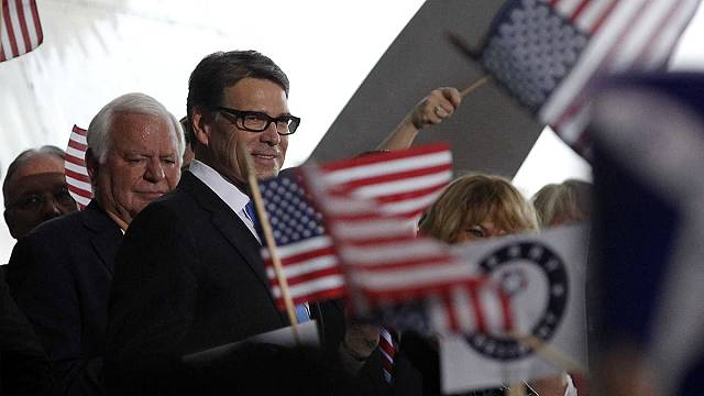 RickPerryjoins Republican race fortheWhite House
