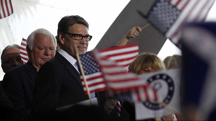 Rick Perry, décimo republicano en aspirar a la nominación para las presidenciales en EEUU