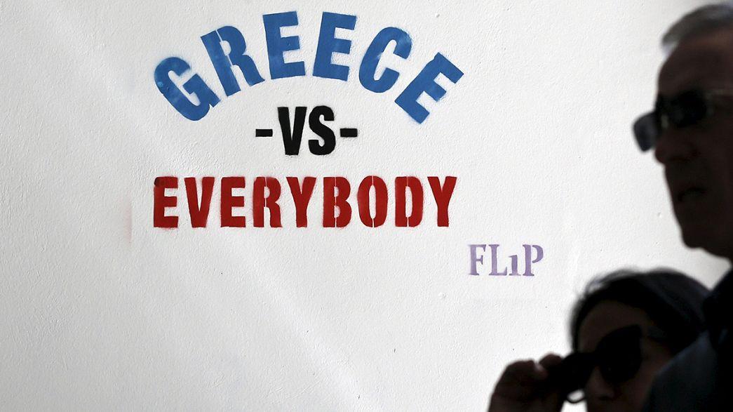 Yunanistan borçlarını ay sonuna erteledi