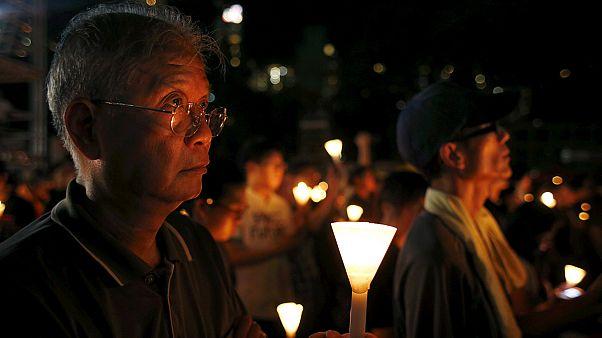 Χιλιάδες στην τελετή μνήμης για τις διαδηλώσεις στην πλατεία Τιεν Αν Μεν