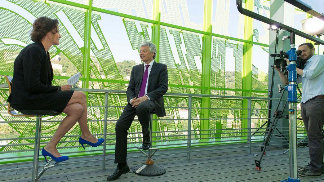 """Didier Reynders, MNE da Bélgica: """"Podemos dar tempo à Bélgica; mesmo diminuir as taxas de juro"""""""