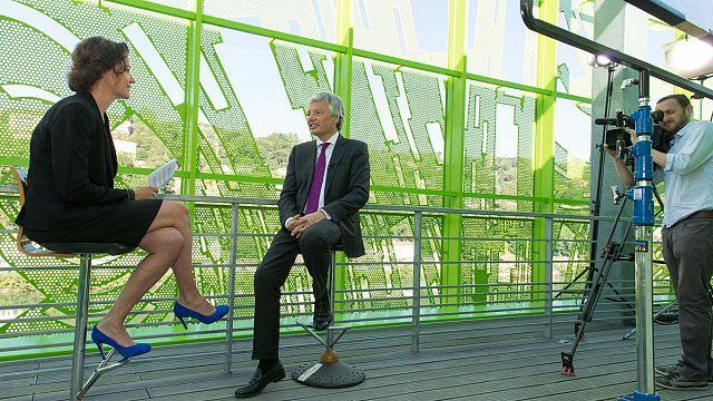 مقابلة مع ديدييه رايندرز وزير الخارجية البلجيكي