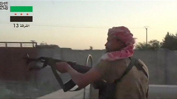 تنظيم الدولة الاسلامية يزحف تحو الحسكة رغم غارات التحالف