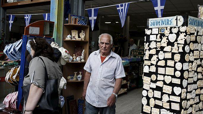 Erteleme kararının ardından Atina sokaklarında halk endişeli