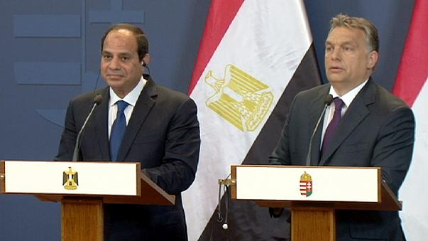 Orbán and al-Sisi talk stability as Egypt's leader visits Hungary