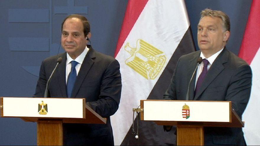 Al Sisi busca la ayuda húngara ante la Uniñón Europea