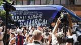 Fans converge on Berlin for Champions League Final