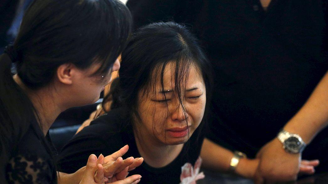 Naufragio in Cina: recuperati circa 400 corpi