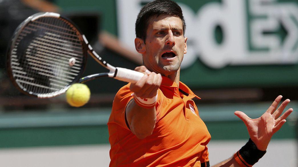 Djokovic será o adversário de Wawrinka na final de Roland-Garros