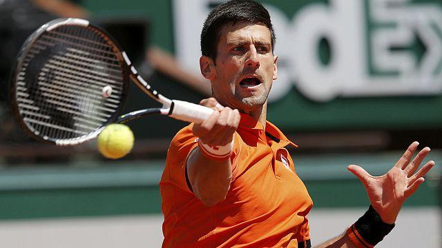 Djokovic, Roland Garros'ta finale yükseldi
