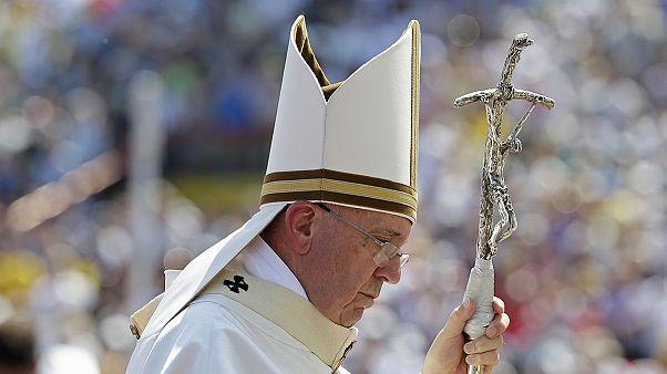 استقبال از پاپ فرانچسکو در سارایوو