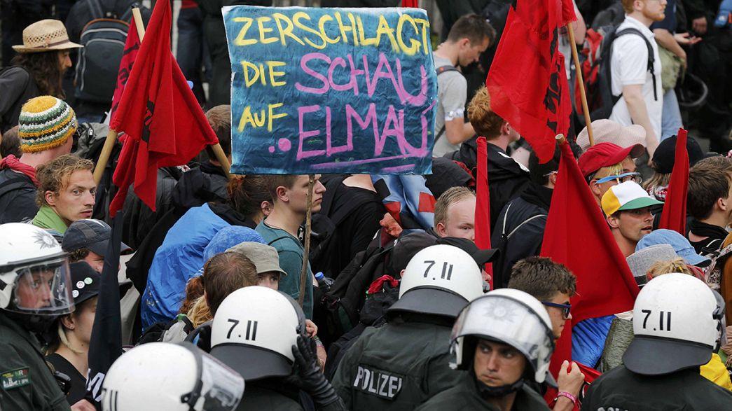 Germania: 4000 persone protestano contro il G7 alla vigilia del summit