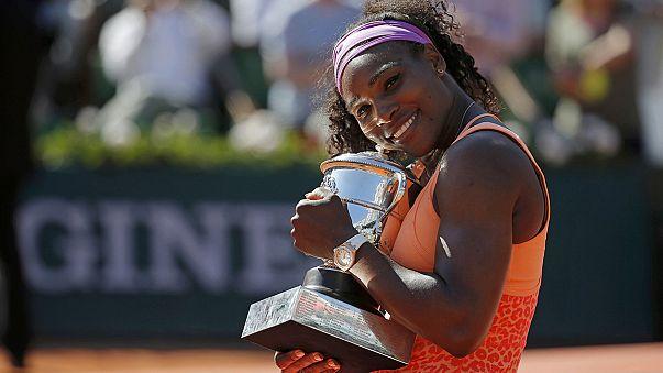 Roland Garros'ta şampiyon Serena Williams