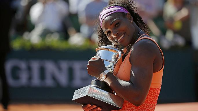 Roland Garros'ta şampiyon Serena Williams
