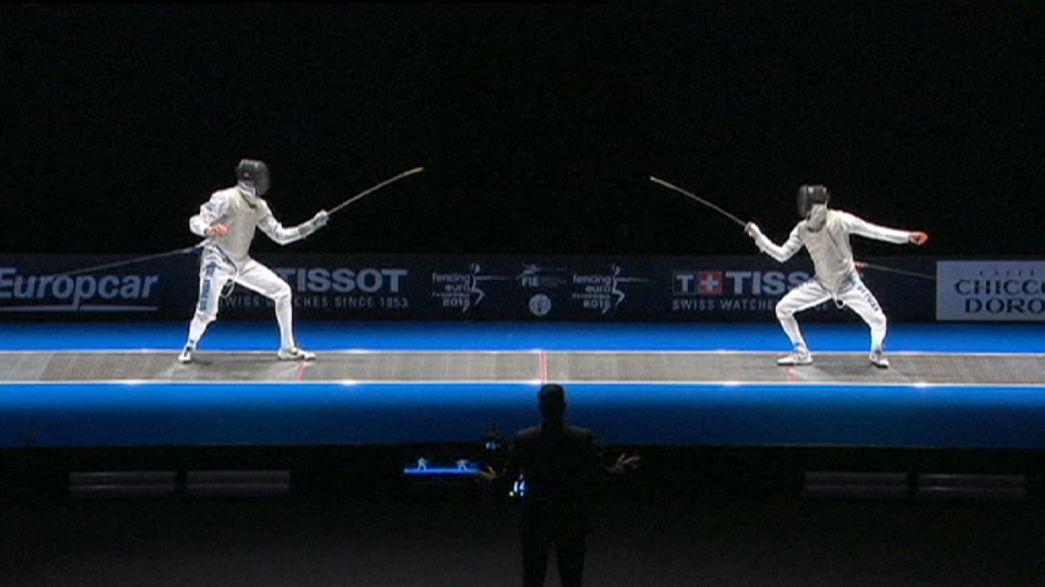 Scherma, Europei 2015: tripletta azzurra nel fioretto maschile, Fiamingo d'argento nella spada
