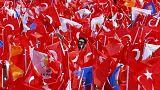 Békésen zajlottak a kampánycsend előtti török nagygyűlések