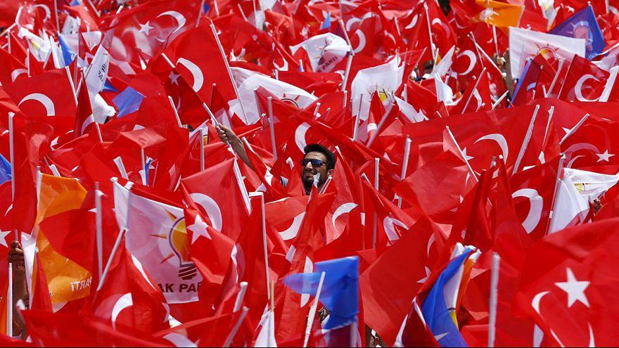 Parliamentary elections in Turkey a test for President Erdogan