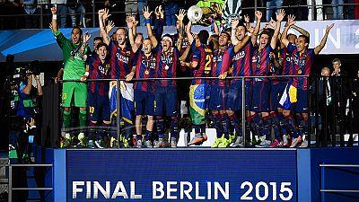 Der FC Barcelona gewinnt die Championsleague