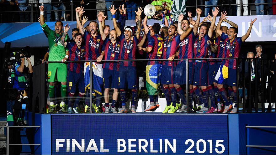 """Лига чемпионов: пятый титул """"Барселоны"""""""