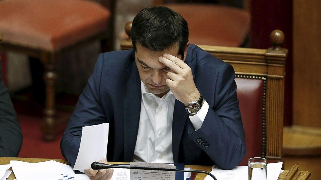 Tsipras negociará con Merkel y Hollande para evitar la asfixia financiera a Grecia