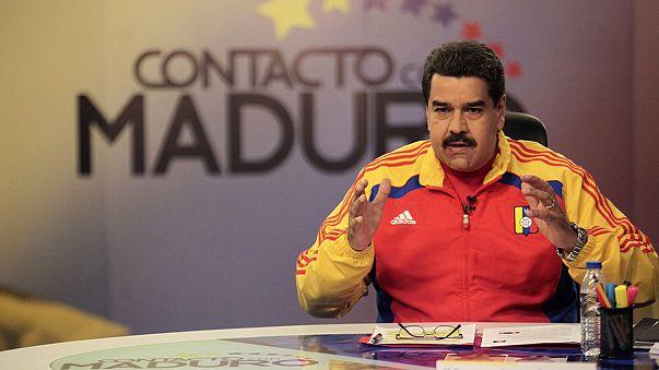 Maduro lemondta a római útját, Ferenc pápával sem találkozik