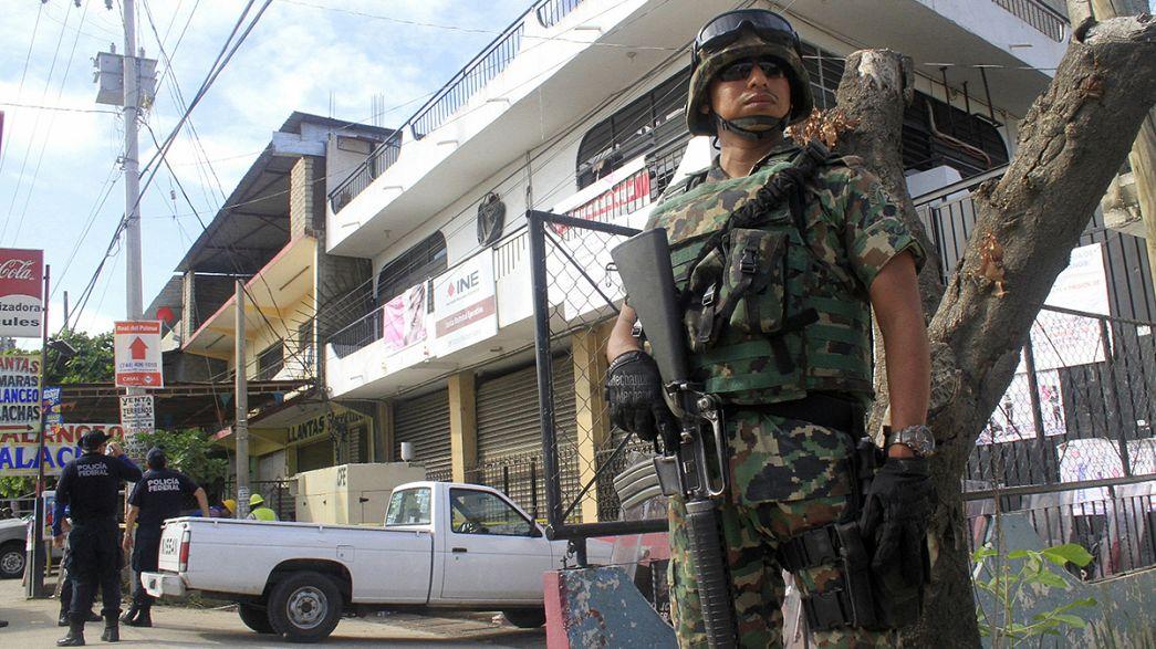 أعمال عنف في المكسيك لتعطيل الانتخابات