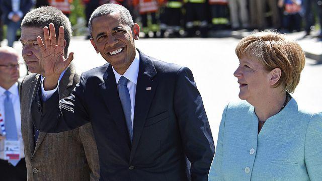 """В Германии в воскресенье - первый день саммита """"Большой семерки"""""""