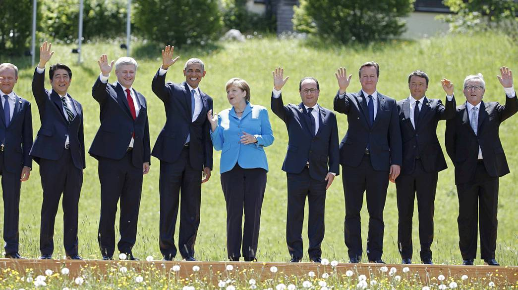 G7: A crise na Ucrânia em debate na Alemanha