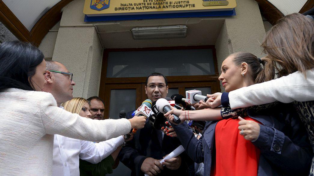 Cientos de personas piden en Bucarest la dimisión del primer ministro rumano