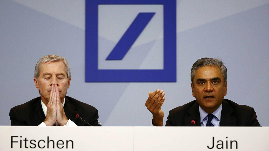 Deutsche Bank: Fitschen und Jain kündigen Rücktritt an