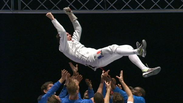 Grumier strikes gold at the European Fencing Championships