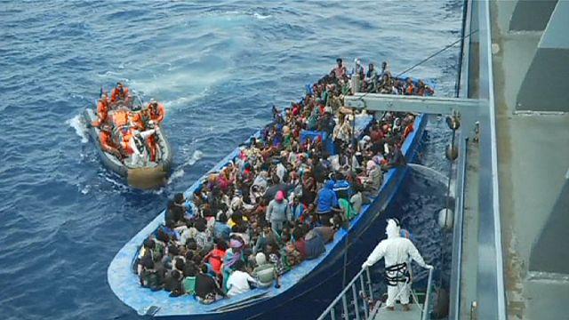 В Средиземном море за два дня спасены 6000 мигрантов