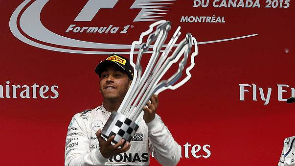 Hamilton edges out Rosberg to clinch Canadian Grand Prix