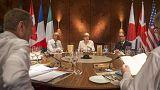 Obama y Merkel pactan mantener las sanciones a Rusia durante la cumbre del G7