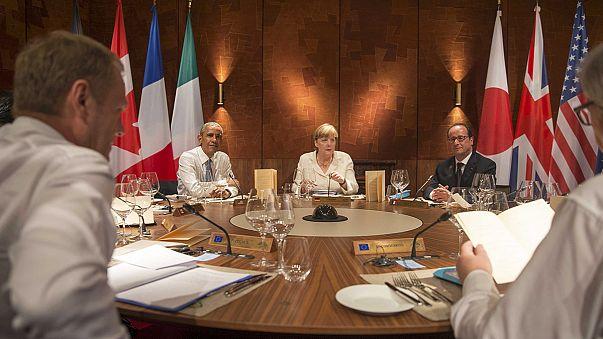 قادة دول مجموعة7يؤكدون حزمهم إزاء موسكو