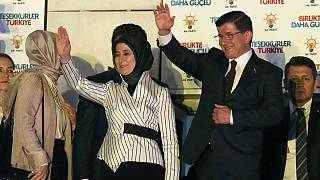 Turkey's PM announces AK Party 'clear winner' in election