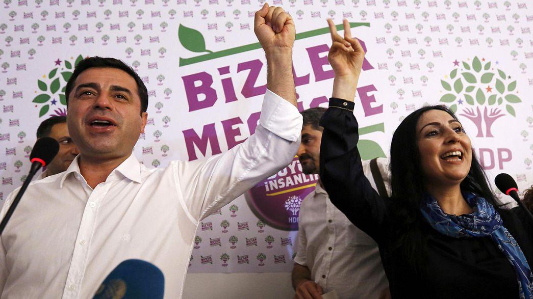 Kurden feiern Erfolg bei türkischer Parlamentswahl