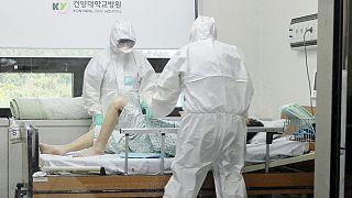 إرتفاع عدد الوفيات بفيروس كورونا في كوريا الجنوبية الى ستة