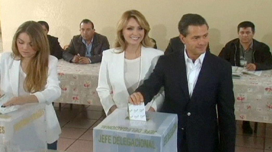 El PRI vence en las elecciones mexicanas pero pierde escaños en el Congreso
