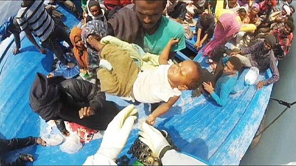 أزمة المهاجرين في البحر المتوسط: 6000 شخص تم انقاذهم في أسبوع واحد