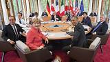 El calentamiento global y el islamismo radical centran la segunda jornada del G7