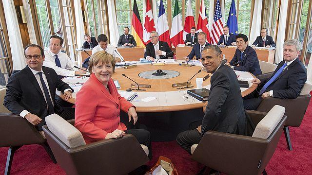G-7 liderleri terör ve iklim değişikliğini masaya yatırıyor