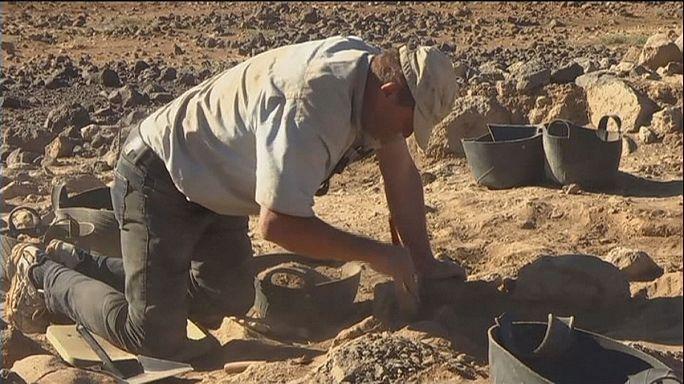 A jordániai Fekete-sivatagban 14 ezer éve kertek zöldelltek