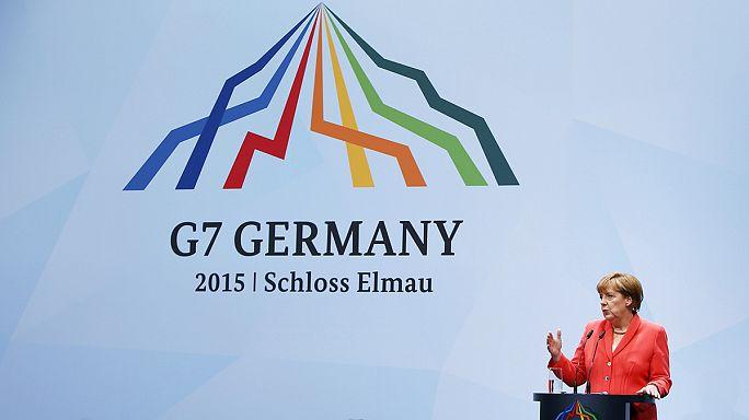 G-7 liderlerinden Rusya'ya yaptırım gözdağı