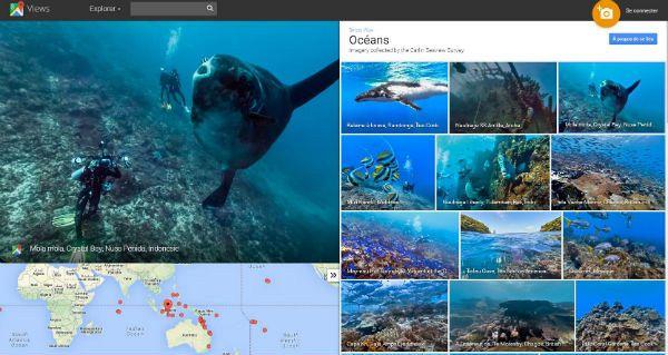 Ocean Google Street View